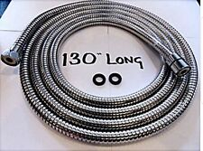 Extra Long Shower Hose 3.2 m Stainless Steel Shower Hose - 8mm Inner Core