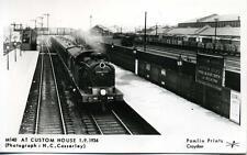 Pamlin postcard M140 LNER 0-6-2 Class N7 No.9619 Custom House East London 1934