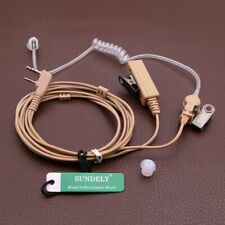 2Pin Air Tube Earpiece Headset for Kenwood Portable Baofeng UV-5R Walkie Talkie