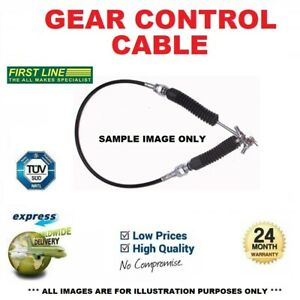 GEAR CONTROL CABLE for VAUXHALL COMBO Mk III 1.3 CDTi 2011->on