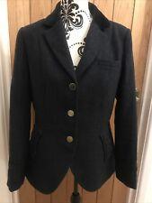 Joules Sinnington Equestrian Hacking Style Blazer Jacket - Navy Blue -Size UK 14