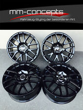 19 Zoll Wheelworld WH26 Felgen Schwarz 8,5x19 et35 5x120 ABE CSL M Paket F10 F11
