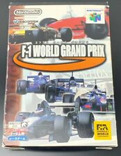 F-1 World Grand Prix Nintendo 64 Japan Import NTCS-J 🇬🇧 Stock