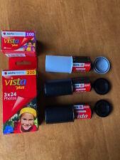 Lot #1 Agfa Vista Series Roll Film- Look!