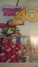 SDCC COMIC CON 40TH ANNIVERSARY SOUVENIR BOOK