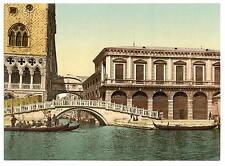 Il ponte di SIGHS II VENEZIA A4 FOTO STAMPA