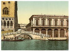 The Bridge Of Sighs Ii Venice A4 Photo Print
