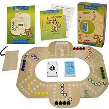 Original Brändi Dog für 2-6 Spieler, Brettspiel aus Holz --Neu-- , Brandi Dog