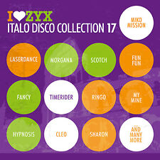 CD ZYX italo discoteca Collection 17 di Various Artists 3cds