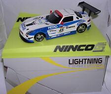 NINCO MERCEDES SLS GT3 #45LIGHTNING NITRO P.HIRSCH-F.SLADECKA BODY DRAMATIC MB