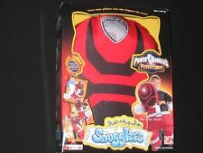 New SNUGGLERS RED POWER RANGER Pillowcase Hug Cuddle Buddy Pillow Cover