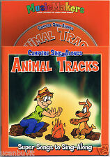 Campfire ANIMAL TRACKS Sing-Alongs CD with Lyric Book Ages 4+
