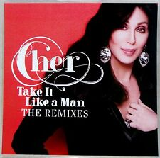 CHER * TAKE IT LIKE A  MAN - REMIXES * US 10 TRK PROMO * CLOSER TO THE TRUTH