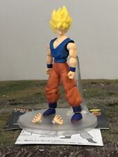 "UniFive DBZ Dragon Ball Z Articulated Super Saiyan Goku 4"" Hybrid Figure 2787"