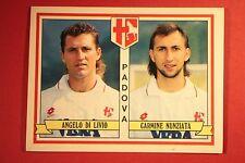 Panini calciatori 1992/93 1992 1993 439 PADOVA DI LIVIO NUNZIATA CON VELINA