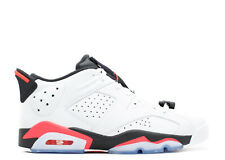 "Nike Air Jordan 6 VI Retro Low ""Infrared"" SZ 12 White Infrared Black 304401-003"