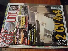 µ? Revue Gazoline n°58 2CV 4X4 201 commerciale Ford Capri 2600 RS Simca Horizon