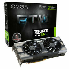 Cartes graphiques et vidéo EVGA NVIDIA GeForce GTX 1070 pour ordinateur