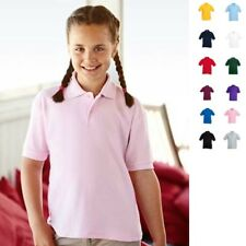 Fruit of the loom Kinder UNISEX Poloshirt Kids Kind Polo 65/35 T-Shirt Polohemd