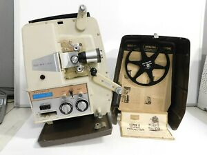 VTG Sears Dual Speed Super 8mm Movie Projector 584 Easi Load (needs power cord)