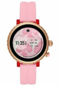 Kate Spade New York Sport Smartwatch - Pink Silicone - Pink
