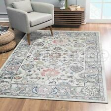 Beccles Floral Allover Cream Transitional Oriental Rug - 4 Sizes **NEW**