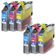 6 farbige Druckerpatronen XL + neuer Chip + Füllstand für Brother DCP-J4110DW
