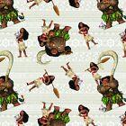 Disney Moana 59624 Moana & Friends 100% Cotton fabric by the yard