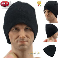 "1/6 Scale Male Female Cap Hat Black Clothes Accessory Fit 12"" Action Figure Body"