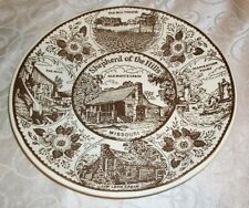 """Ironstone """"Shepherds of the Hill"""" Missouri Plate By Charles Product Inc., USA"""