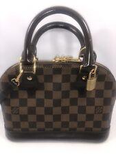 Louis Vuitton ALMA BB Damier Ebene Crossbody Bag N41221