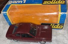 New ListingSolido 1/43 Vintage Maroon Lancia Beta Coupe 1800 Die-Cast Car W Box