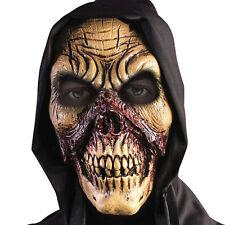 Máscara Zombie Sangriento cráneo mal Miedo Terror Disfraz De Halloween Disfraz