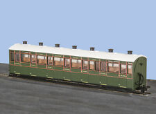 More details for peco gr-441a oo-9 l&b all 3rd class coach sr green livery no.2469