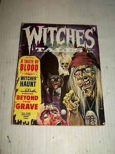Eerie WITCHES TALES #8 September 1969 PARTIALLY SPLIT SPINE