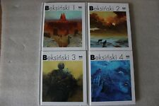Zdzisław Beksiński collection 1-4 Painting hardcover art book NEW !!! BEKSINSKI
