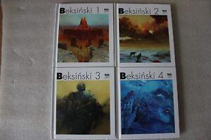 Zdzisław Beksiński collection 1-4 Painting hardcover art book NEW !!! BEKSINSKI