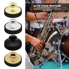 More details for abs mute silencer for alto saxophone sax dampener instrument accessories uk