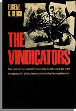 The Vindicators (1963) - by Eugene Block - True Crime/Science Hardcover Book!