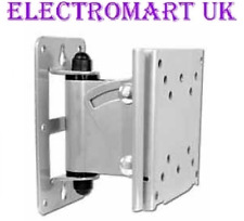 "TV WALL BRACKET CARAVAN MOTORHOME BOAT VESA 50 75 & 100 TO 28"" QUICK RELEASE"