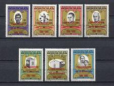 25086) HONDURAS 1967 MNH** Nuovi** Ovptd …ONU 1966 - 7v