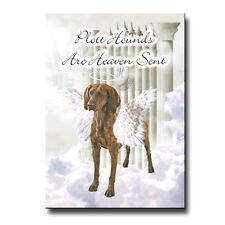 Plott Hound Heaven Sent Fridge Magnet Dog Pet Loss