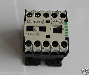 Klockner Moeller DILEM-10-G contactor 24v dc  DILEM10G