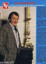 Coupure de presse Clipping 1981 Julien Guiomar   (1 page)