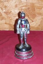 Vintage Knight in Armor Table Cigarette Lighter Music Box Collector Collectible