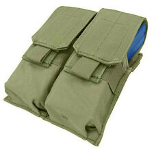 Condor Double M4 Mag Pouch For .223 & 5.56 Magazines - Tactical Molle - OD - MA4