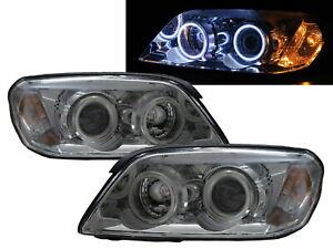 Captiva 2006-2010 Wagon COB Projector Headlight Chrome for CHEVROLET CHEVY RHD