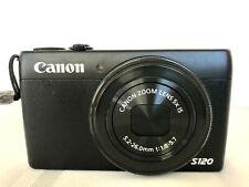 *Excellent Condition* Canon PowerShot S120 Digital Camera - Black & Accessories