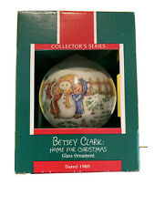 1989 Hallmark Betsy Clark Home for Christmas, Christmas Ornament Nos