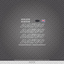01117 Dawes Horizon Bicycle Stickers - Decals - Transfers - White